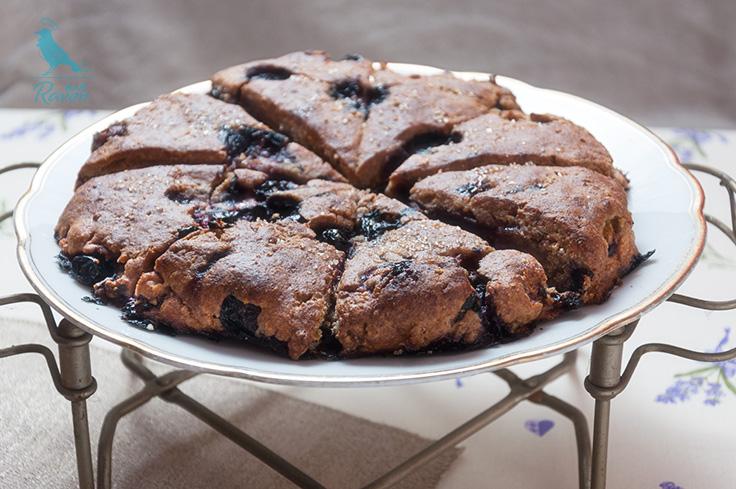 Vegan and guten free blueberry scones. #vegan #gluten free