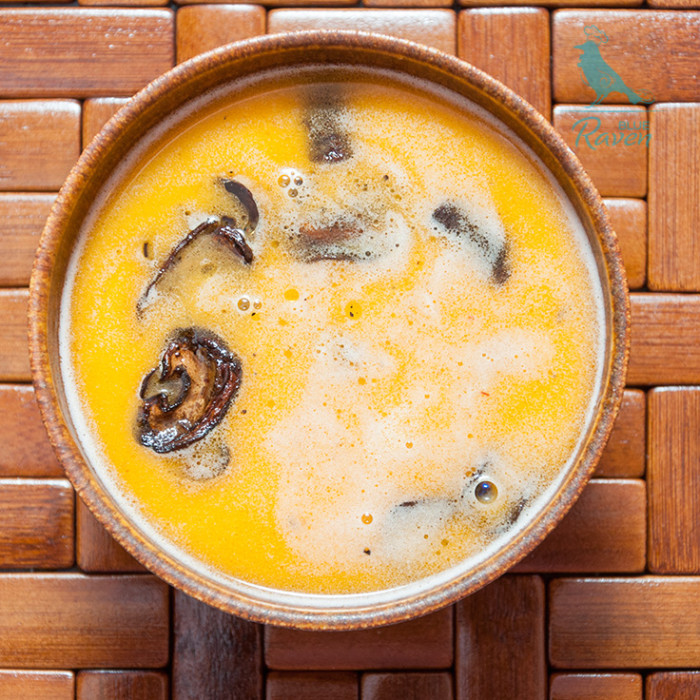 Cheese-and-beer soup. #vegetarian