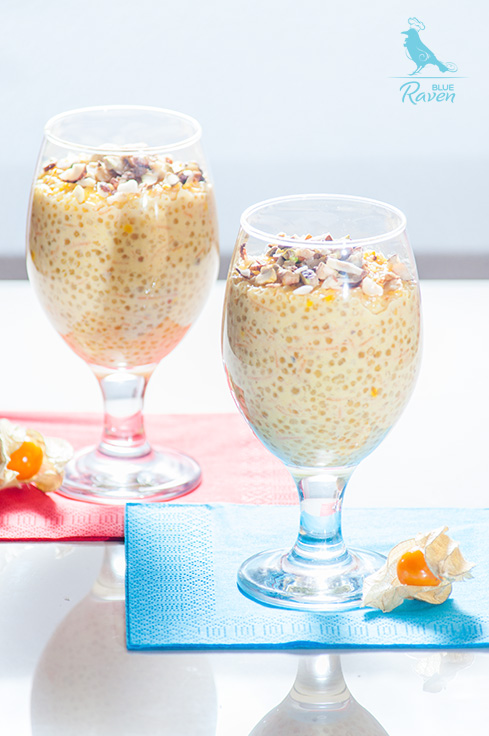 Vegan tapioca and carrot pudding #vegan #vegetarian #glutenfree #sugarfree