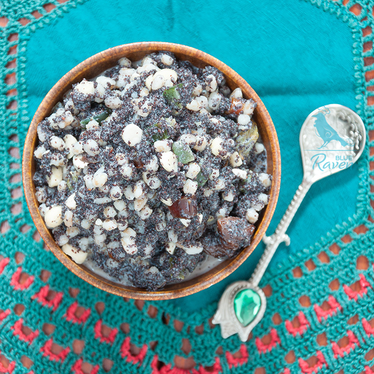 Kutia – sweet desert for Christmas #vegan #vegetarian #no sugar #no dairy