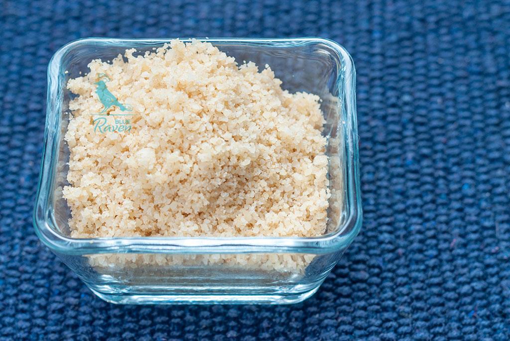 Vegan almond parmesan #vegan #glutenfree #no salt