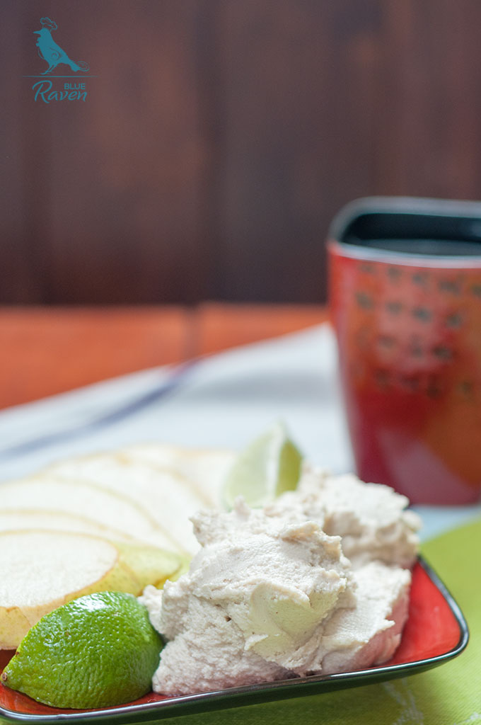 Vegan cashew cheese with pear #vegan #gluten free #no sugar