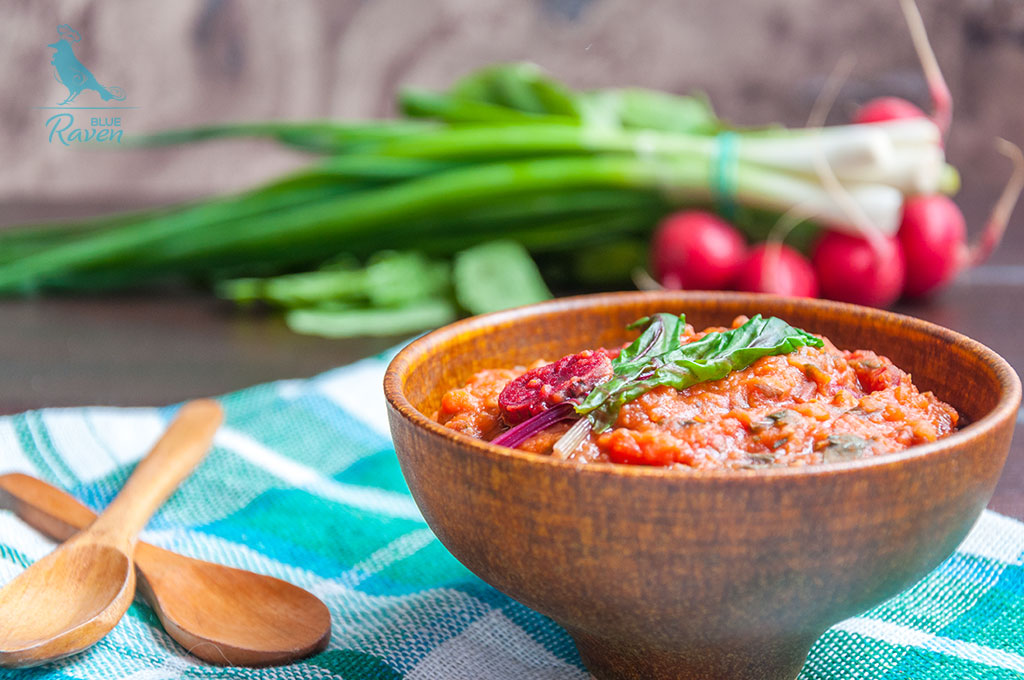 Vegan masoor dal with chard #vegan #glutenfree #nosalt