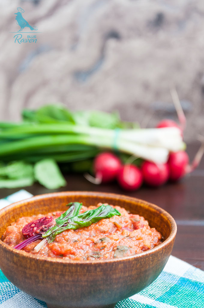 Vegan masoori dal with chard #vegan #glutenfree #nosalt
