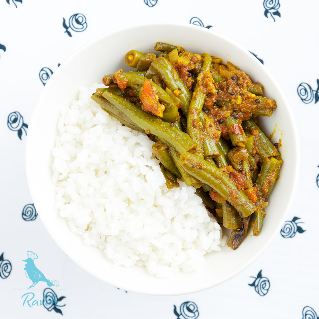 Green beans curry #vegan #gluten-free