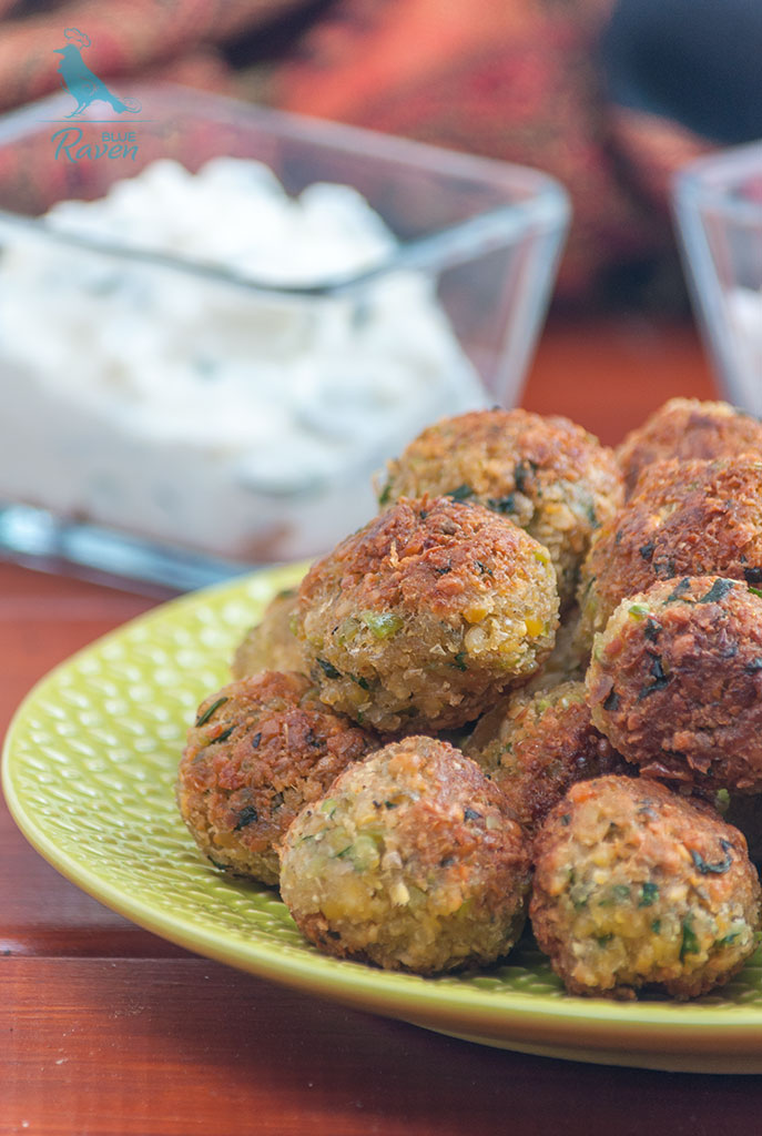 Perfect falafels #vegan #gluten-free #chickpeas
