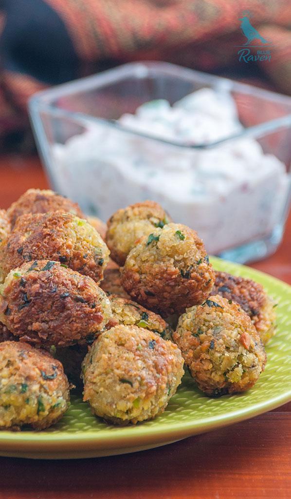 Perfect falafels #vegan #gluten-free #chickpeas