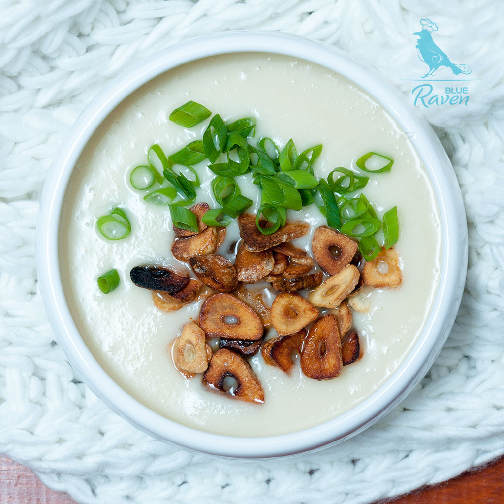 Parsley roots Thai style soup #vegan #gluten-free
