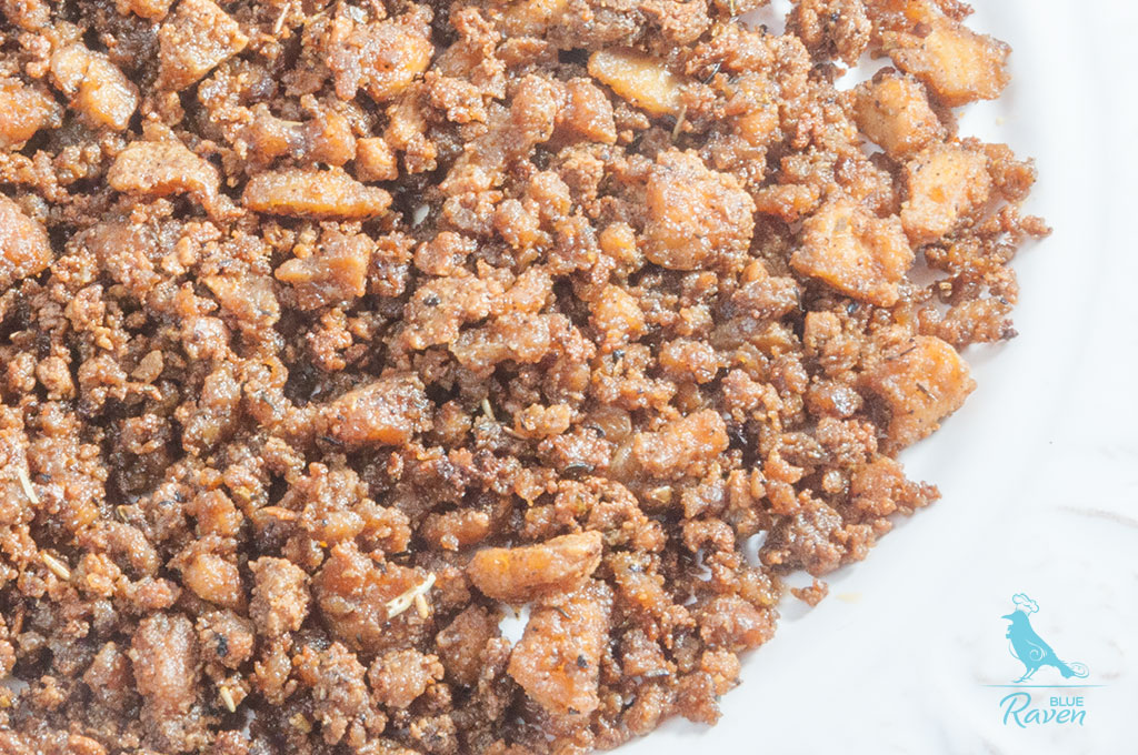 Minced tofu #vegan #vegan-meat #tofu